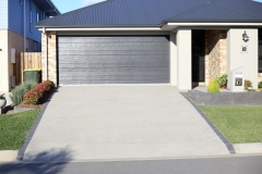 Covercrete driveway for new home build