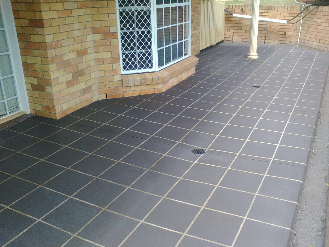 Patio slab